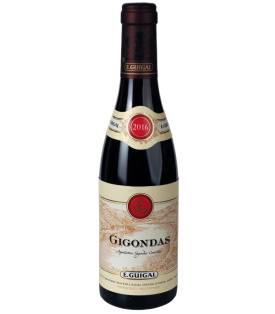 Gigondas 2016 de la Maison E. Guigal en demi-bouteille sur Vinademi