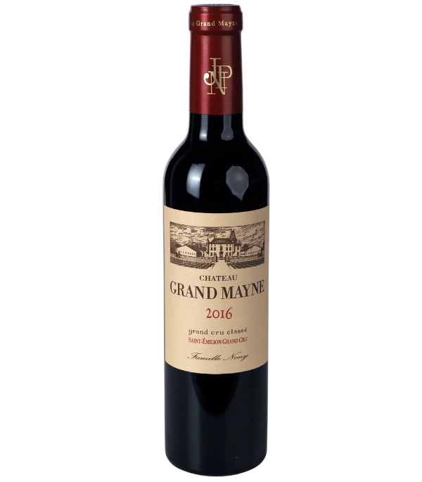 Saint-Emilion Grand Cru Classé Château Grand Mayne 2016 en demi-bouteille sur Vinademi