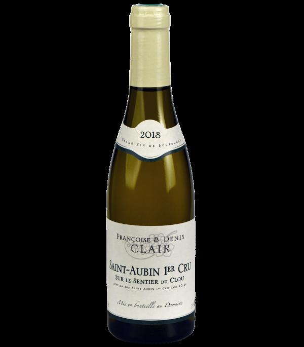 """Saint-Aubin Premier Cru """"Sur le Sentier du Clou"""" Blanc du Domaine Françoise et Denis Clair en demi-bouteille sur Vinademi"""