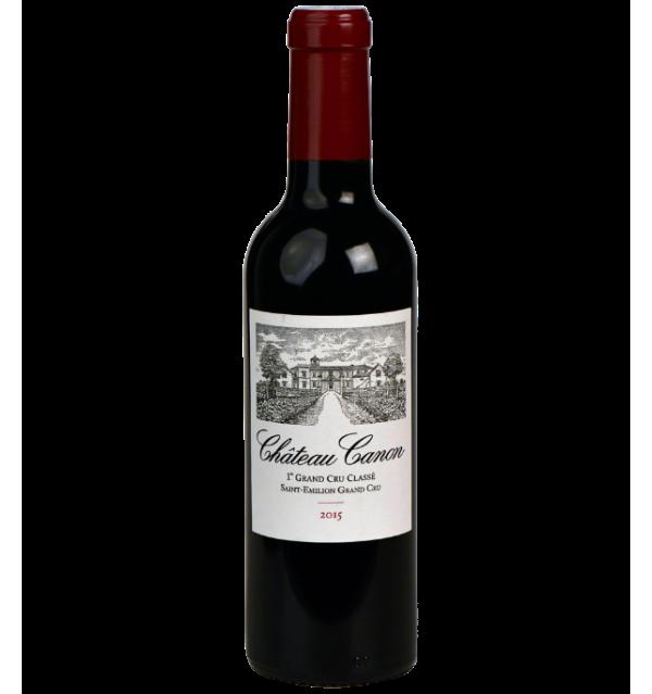 Saint-Emilion Premier Grand Cru Classé B Château Canon 2015 en demi-bouteille sur Vinademi