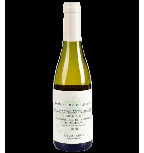 Chassagne-Montrachet 2018 de la Maison Louis Jadot en demi-bouteille sur Vinademi