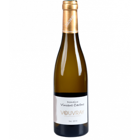 Vouvray - Sec 2018 - Domaine Vincent Carême en demi-bouteille 37,5 cl sur Vinademi