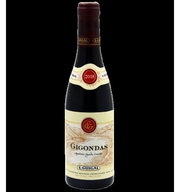 Gigondas 2018 de la Maison E. Guigal en demi-bouteille 37,5cl sur Vinademi
