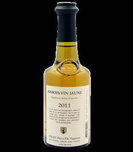 Arbois Blanc Vin Jaune 2011 du Domaine Rolet Père et Fils en demi-bouteille sur Vinademi