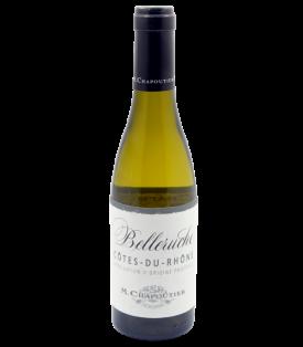Côtes du Rhône blanc Belleruche 2020 de la Maison M. Chapoutier en demi-bouteille sur Vinademi