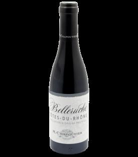 Côtes du Rhône Rouge Belleruche 2020 de la Maison M. Chapoutier en demi-bouteille sur Vinademi